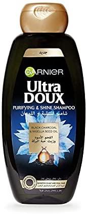 Garnier Ultra Doux Black Charcoal & Nigella Seed Oil Shampoo 200 ml