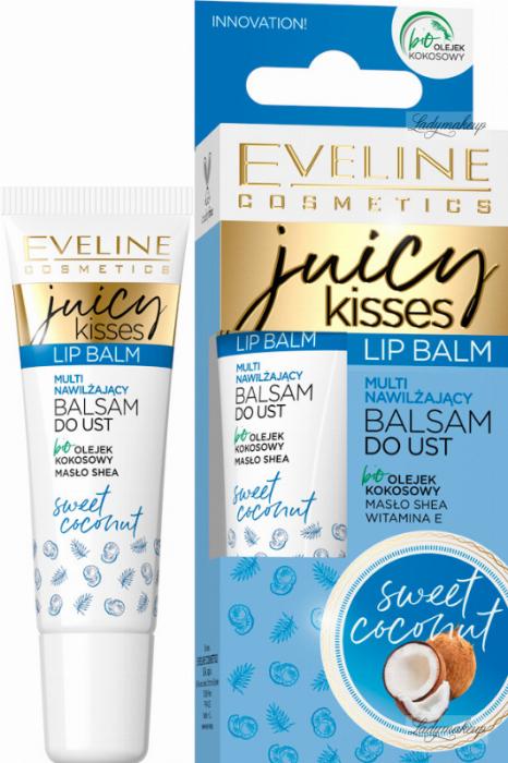 Eveline Cosmetics JUICY KISSES lip balm Coconut