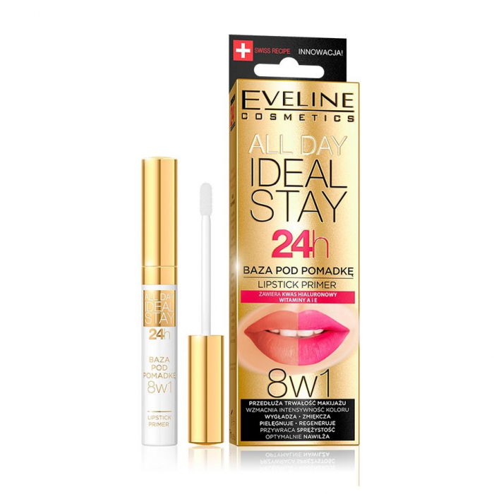 EVELINE ALL DAY IDEAL STAY 24H LIPSTICK PRIMER
