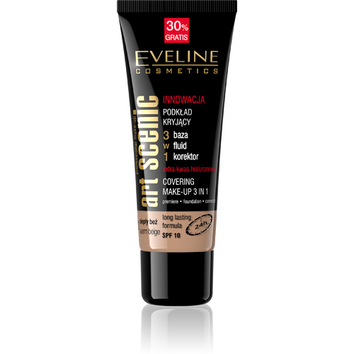 EVELINE ART SCENIC COVERING MAKE-UP 3IN1 FOUNDATION 40ML