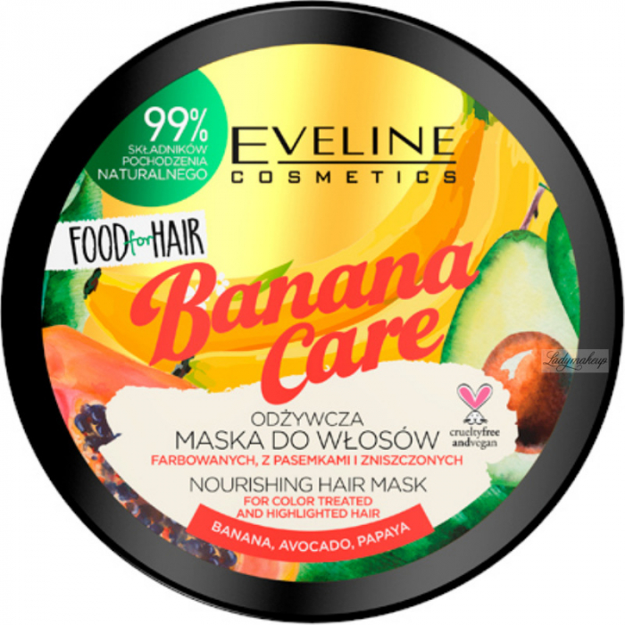 Eveline Banana Care Nourishing Hair Mask