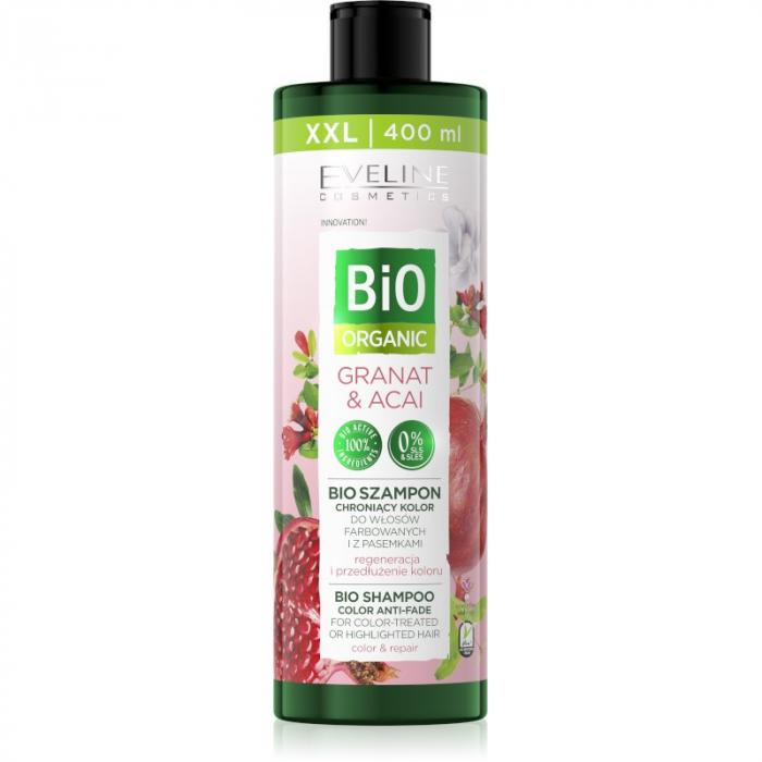 Eveline Bio Organic Shampoo Color Anti-Fade Granat & Acai 400ml