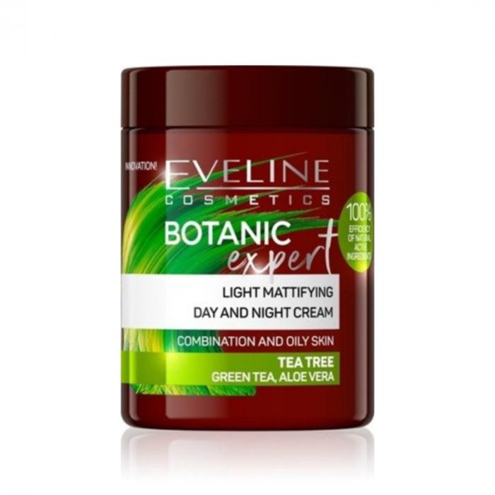 Eveline Botanic Expert Light Mattifying Day&Night Cream Tea Tree 100ml