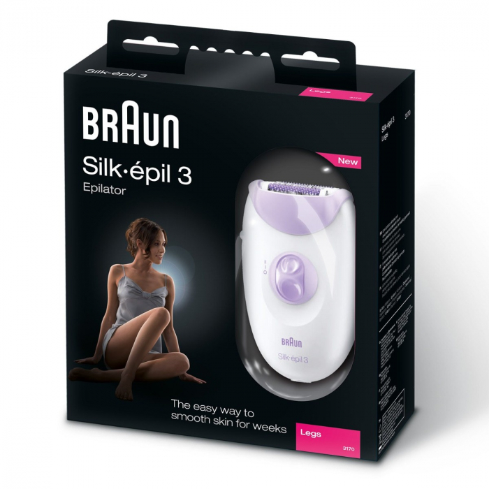 Braun Silk-épil 3 Women's Epilator, Electric Hair Removal