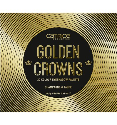 Catrice Golden Crowns 30 Colour Eyeshadow Palette