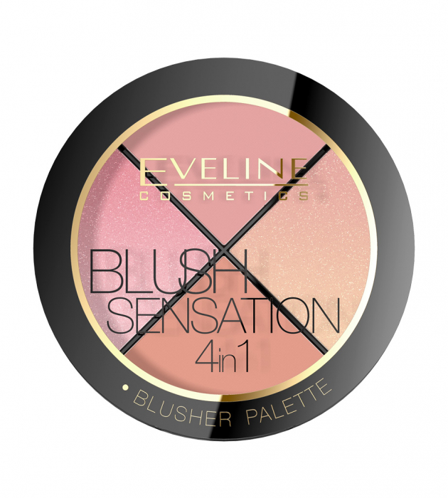 EVELINE CONTOUR BLUSH SENSATION 4IN1