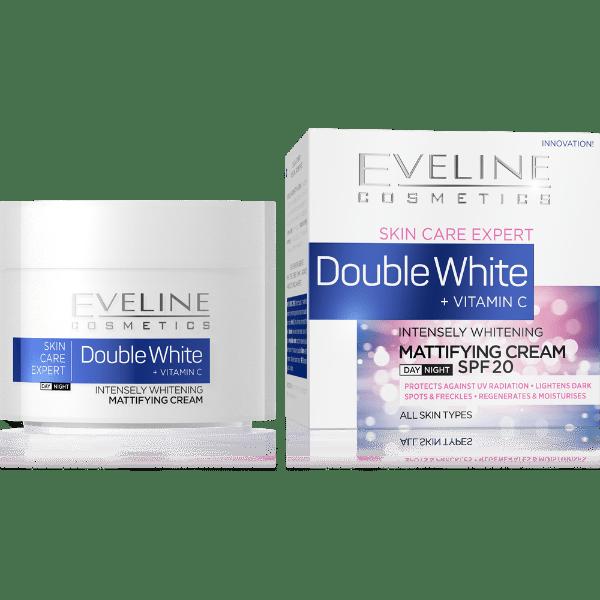 Eveline Double Whitening Mattifying Cream 50ml