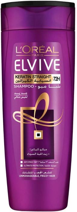 L'Oreal Elvive Keratin Straight Shampoo 400ml