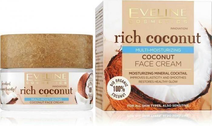 Eveline Rich Coconut Face Cream (all skin type) 50ml