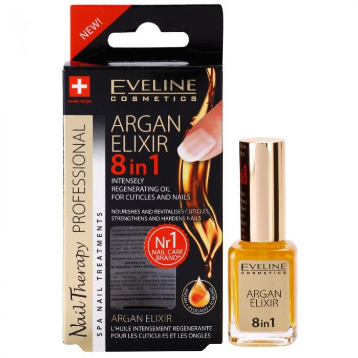 Eveline Argan Elixir 8in1 Intesely Regenerating Oil