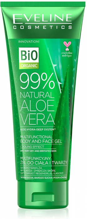 Eveline 99% Natural Aloe Vera face and Body Gel