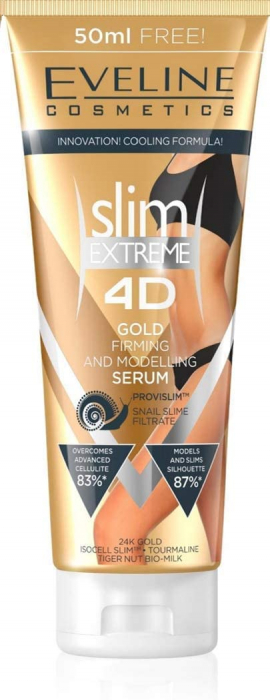 Eveline Cosmetics Slim Extreme 4D Gold Serum 250ML