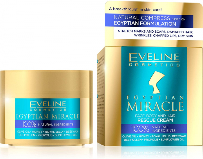 Eveline Egyptian Miracle - Face, Body and Hair Universal Rescue Cream 40 ML