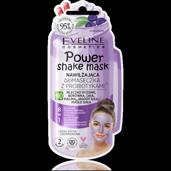 Eveline Power Shake Mask Moisturizing 8in1
