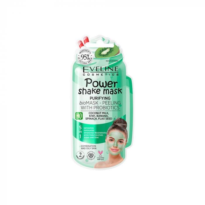 Eveline Power Shake Mask Purifying 5in1
