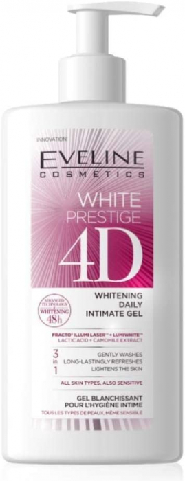 Eveline White Prestige 4D Whitening Daily Intimate Gel 250ml
