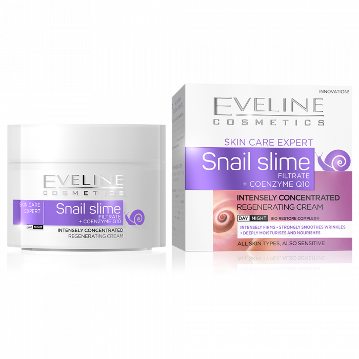 Expert Snail Slime Day and Night Cream