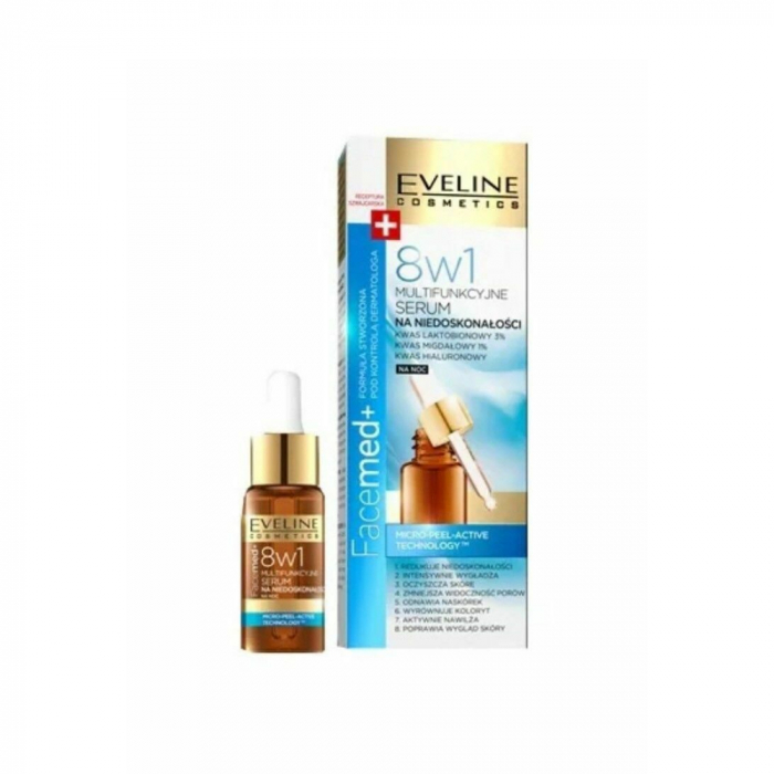 EVELINE FACEMED+ 8IN1 MULTIFUNCTION SERUM AGAINST IMPERFECTIONS