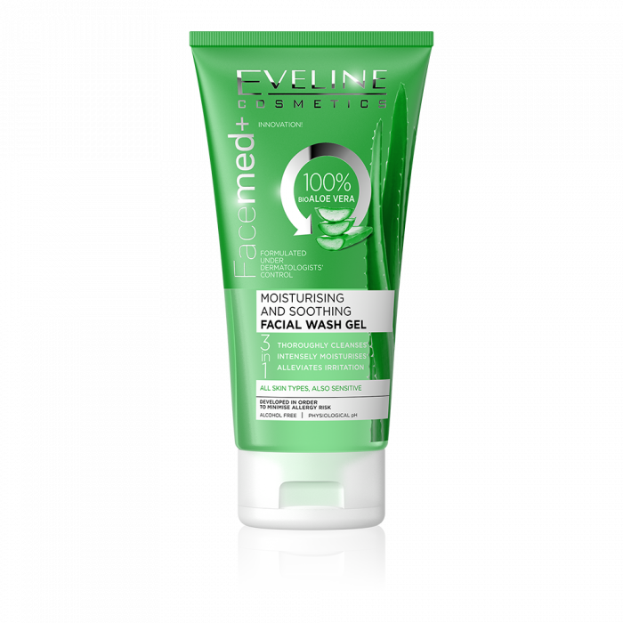 Eveline MOISTURISING AND SOOTHING FACIAL WASH GEL