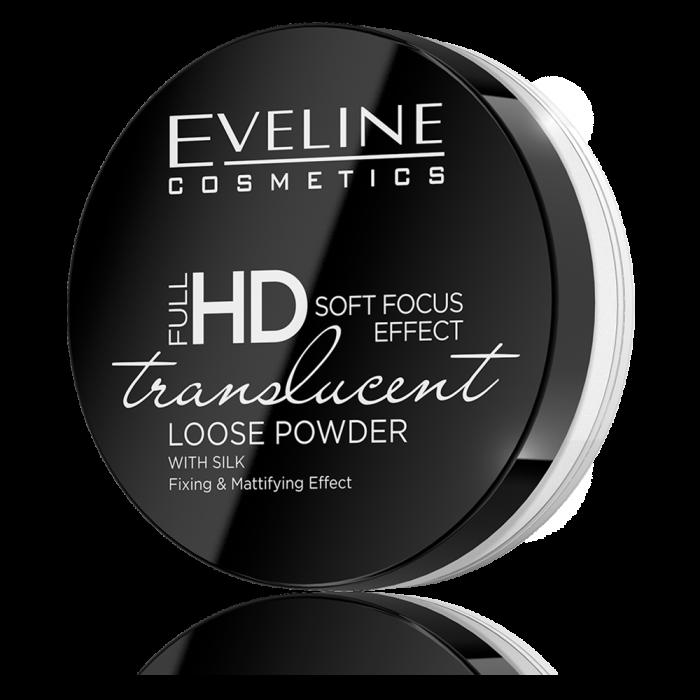 EVELINE ULL HD TRANSLUCENT FIXING & MATTIFYING LOOSE POWDER WITH SILK