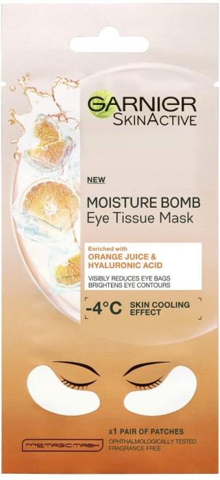 Garnier Eye Sheet Mask Hyaluronic Acid And Orange Juice