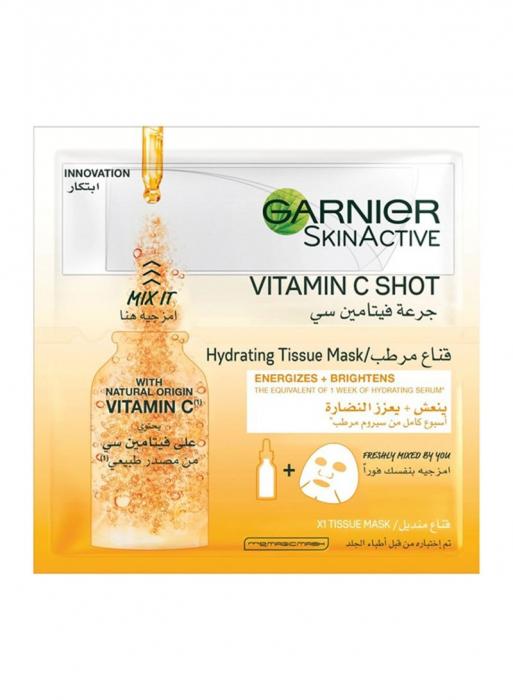 Garnier Skin Active Fresh - Mix Tissue Mask with Vitamin C