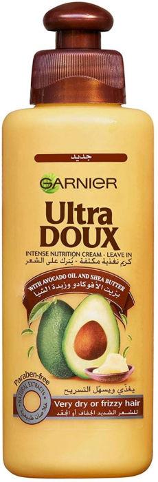 Garnier Ultra Doux Avocado Oil and Shea Butter Leave-in, 200 ml