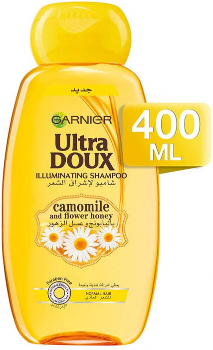 Garnier Ultra Doux Camomille Honey Shampoo 400ML