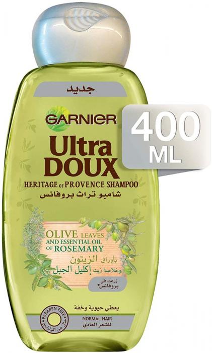 Garnier Ultra Doux Provence Olive & Rosemary Shampoo 400 ml