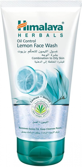 Himalaya Oil Control Lemon Face Wash 150ml
