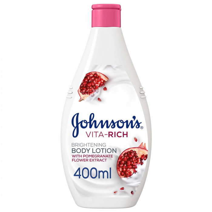 JOHNSON'S Body Lotion Vita-Rich, Brightening 400ml