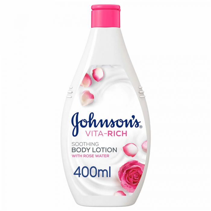 JOHNSON'S - Body Lotion, Vita-Rich Soothing 400ml