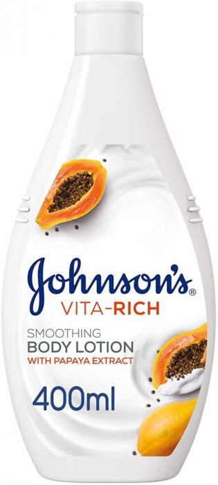 JOHNSON'S Body Lotion Vita-Rich Papaya 400ml