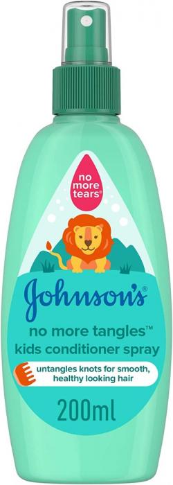 JOHNSON'S Kids Conditioner Spray - No More Tangles 200ml
