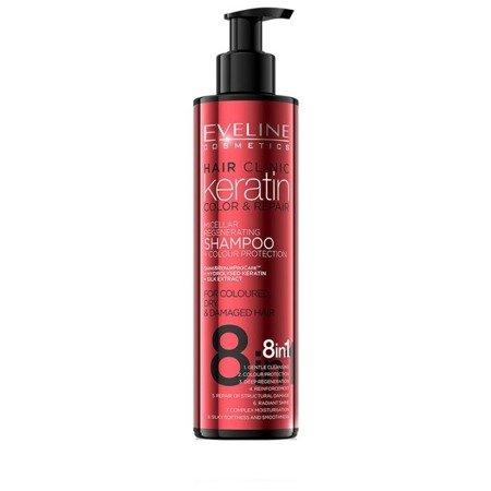 Eveline Keratin Color&Repair Shampoo 8in1