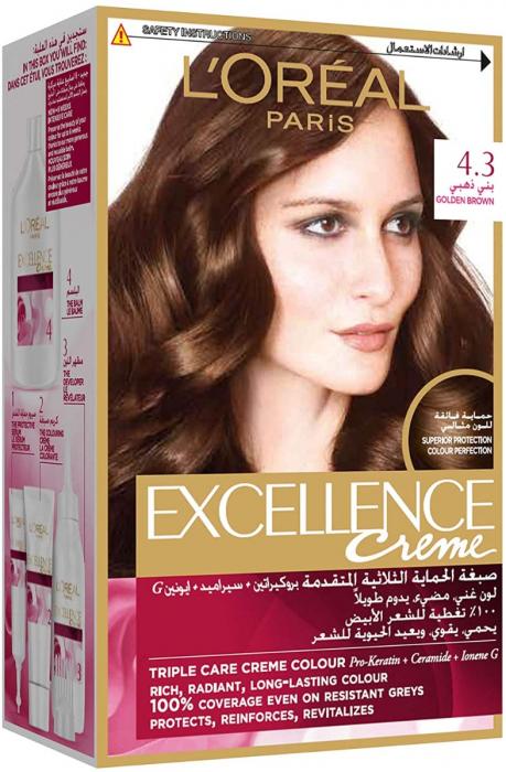 L'Oreal Paris Excellence Crème Permanent Hair Color