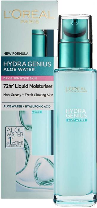 L'Oreal Paris Hydra Genius Aloe Water For Dry Skin