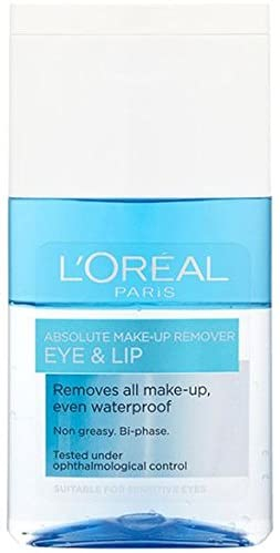 L'Oreal Paris Make Up Remover Eyes & Lips For Water Proof 125Ml
