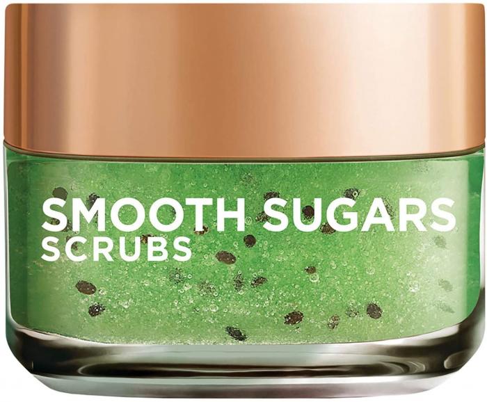 L'Oreal Paris Smooth Sugar Scrubs with Kiwi Seeds to Reduce Blackheads, 50ml