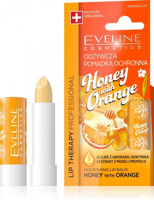 EVELINE Honey with Orange Lip Balm