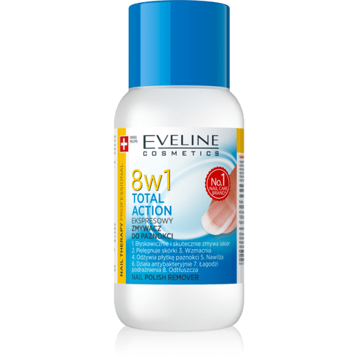 EVELINE NAIL THERAPY - NAIL POLISH REMOVER 8IN1