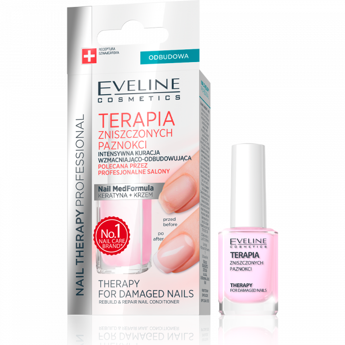 EVELINE THERAPY FOR DAMAGED NAILS REBUILD & REPAIR NAIL CONDITIONER