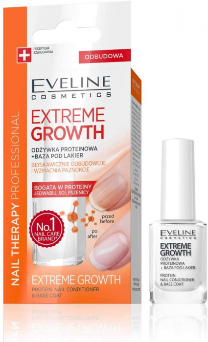 EVELINE NAIL THERAPY PROTEIN EXTREME GROWTH 12ML