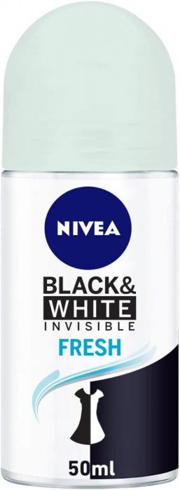 NIVEA Deodorant Female Invisible Black & White Fresh Roll-On