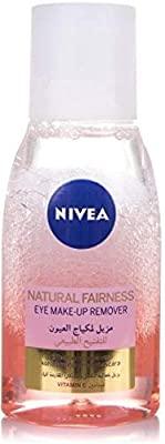 Nivea Eye Make-Up Remover Natural Fairness 125Ml