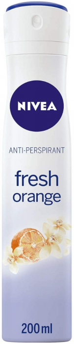 NIVEA Fresh Orange Deodorant For Women Spray , 200 ml