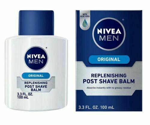 NIVEA Men ORIGINAL Replenishing Post Shave Balm Hydrating Skin 100ml