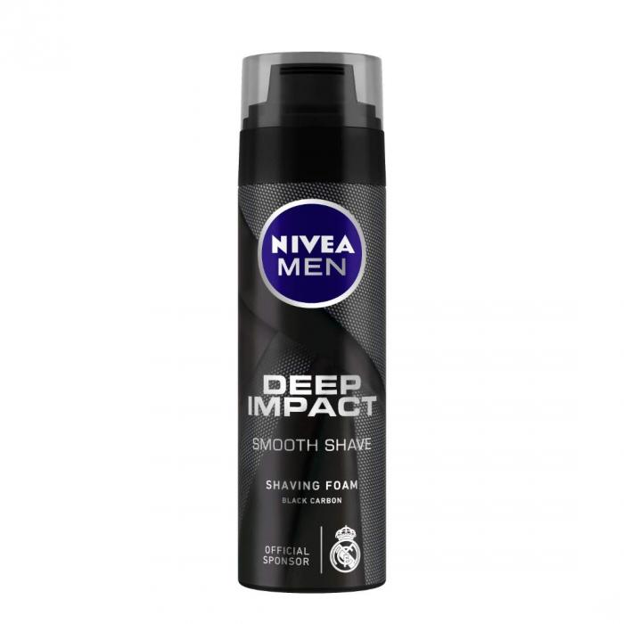 NIVEA MEN Shaving Deep Impact Smooth Shaving Foam 200ml