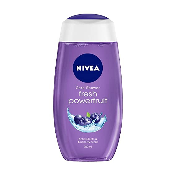 Nivea Shower Gel For Women Gel Powerfruit 250Ml