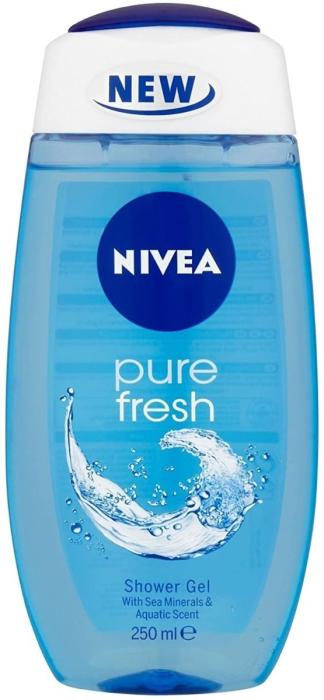 Nivea Shower Gel For Women Pure Fresh 250Ml
